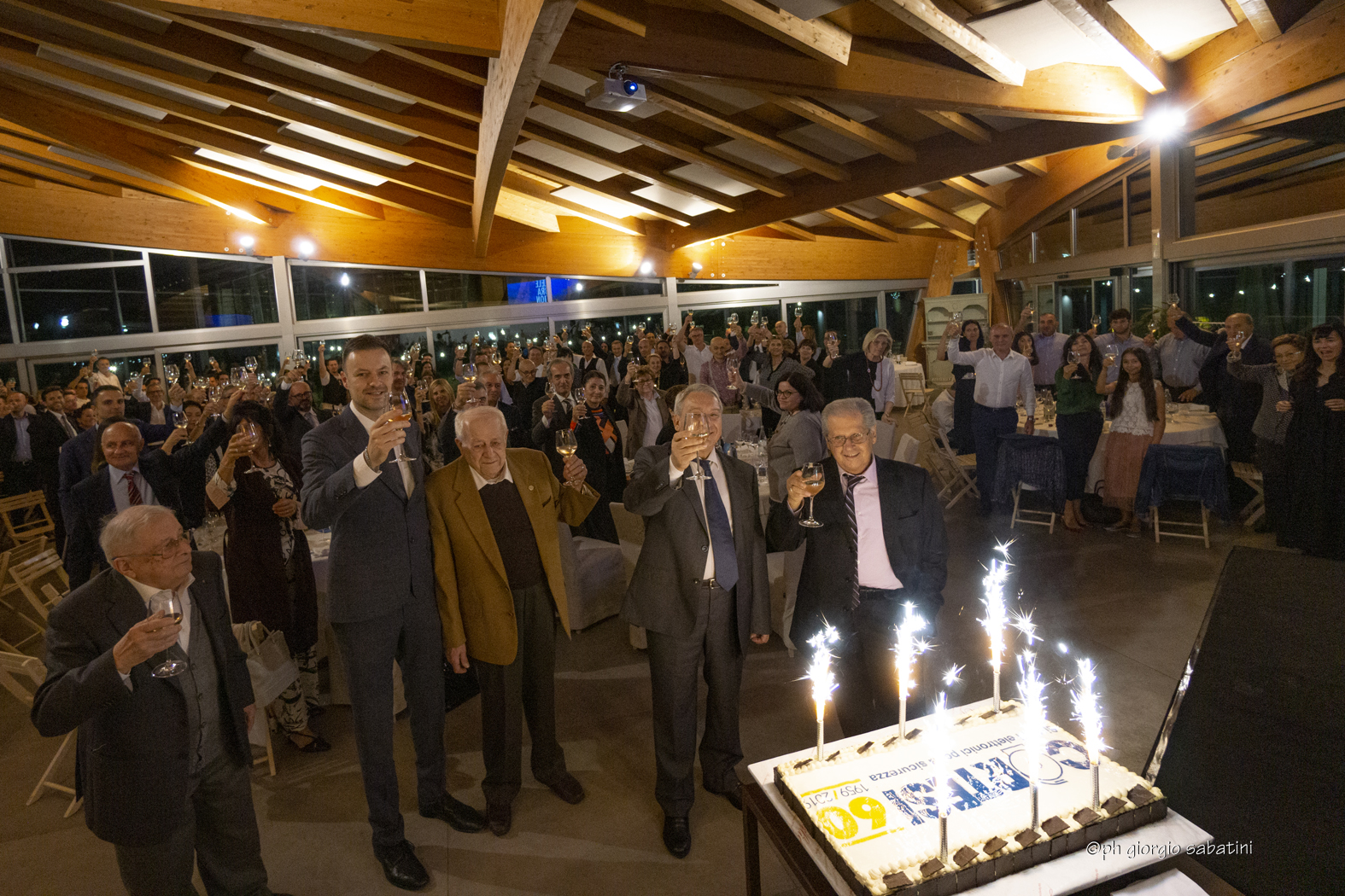 Festa per i 60 anni